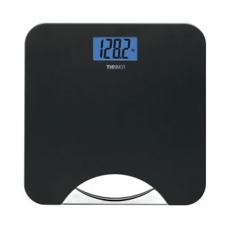 Thinner� Black and Chrome Handle Scale