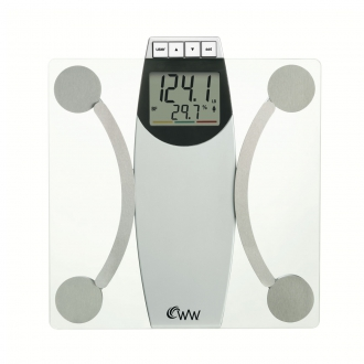 Weight Watchers� by Conair Glass Body Analysis Scale