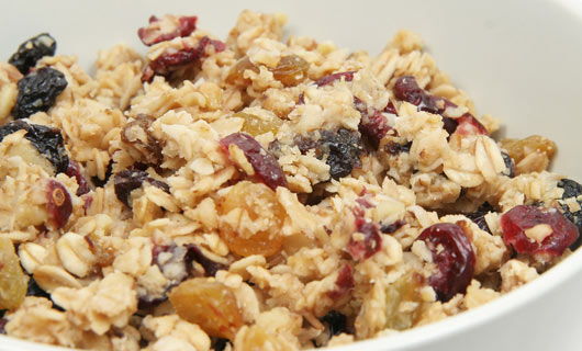 Fruit and Nut Granola